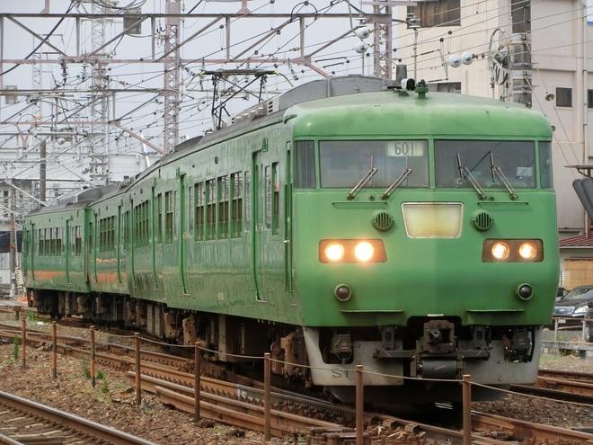【JR西】117系S1編成岡山地区へ貸し出し