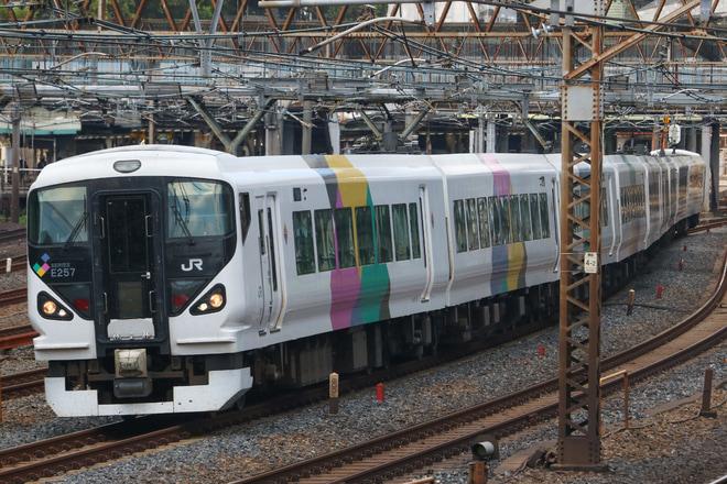 【JR東】E257系モトM-103編成 尾久疎開返却回送