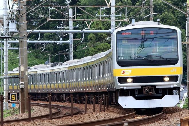 【JR東】E231系ミツB19編成 大宮総合車両センター入場