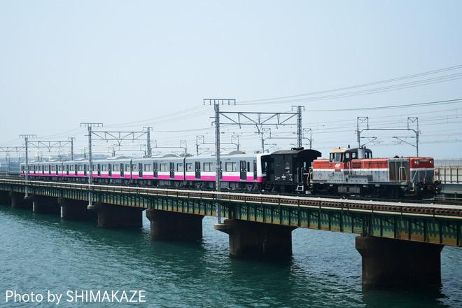 【新京成】N800形N858編成甲種輸送
