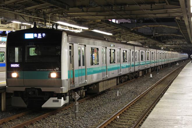 【JR東】松戸花火大会開催に伴う常磐線の着発線変更