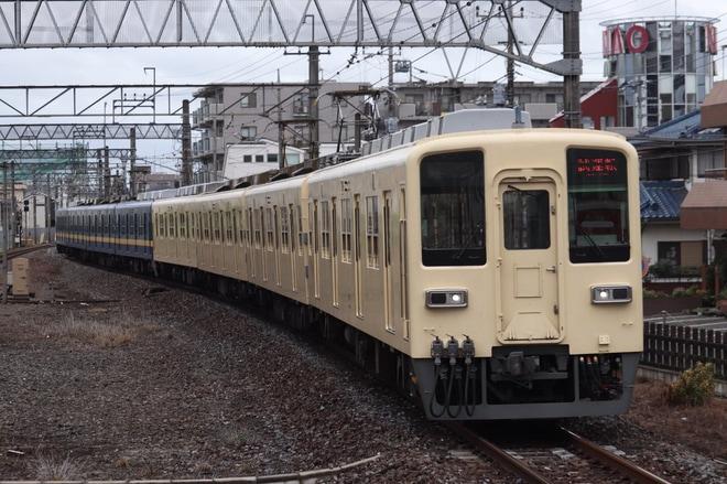 【東武】8000系81111F(セイジクリーム)+8198F(フライング東上) 試運転