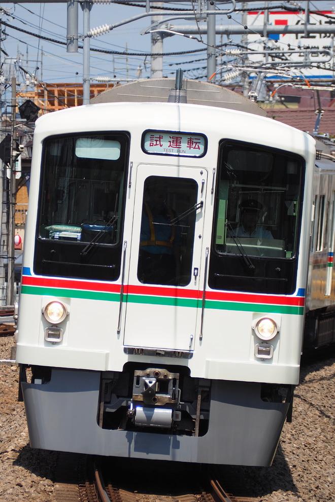 【西武】4000系4011F 武蔵丘車両検修場出場試運転