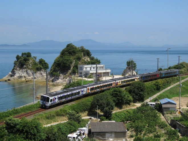 【JR四】宇和島に残されていた2000系・キハ54などが松山へ帰還