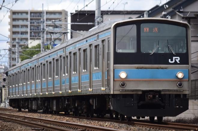 【JR西】205系NE402編成(元HI602編成)奈良へ転属回送
