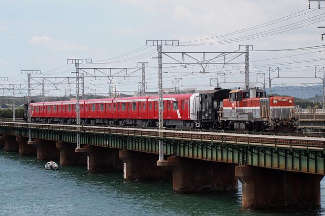 【メトロ】丸ノ内線新型車両2000系2101F甲種輸送