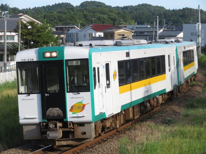 【JR東】キハ110-238+キハ110-241運転再開に伴う酒田送込