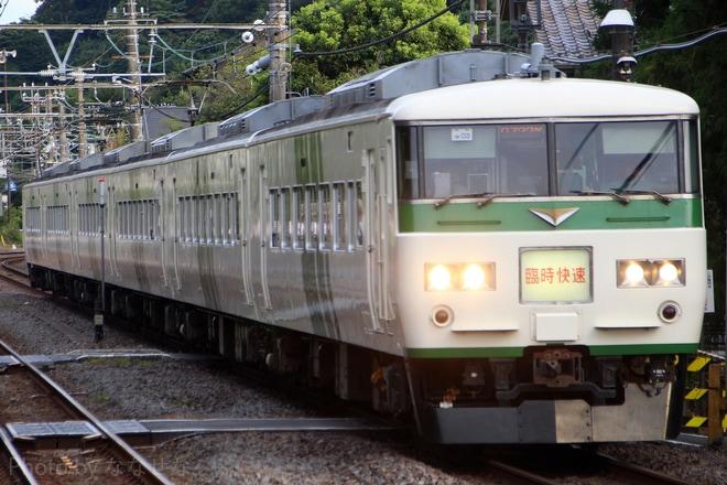 【JR東】185系使用「ホリデー快速鎌倉」運用終了