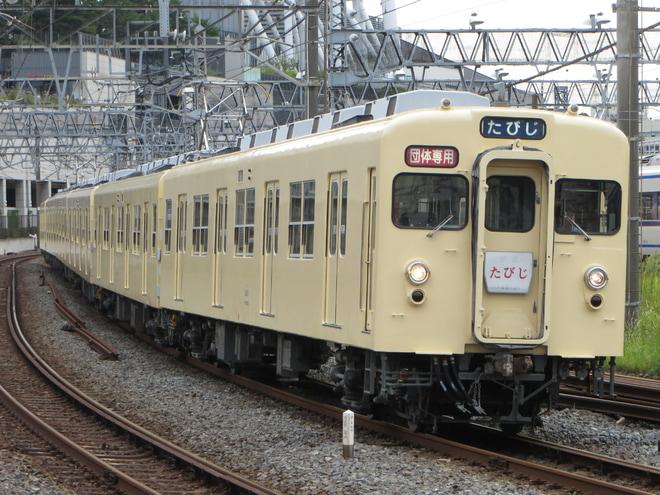【東武】8000系8111Fによる団体臨時列車「たびじ」運行