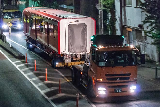 【メトロ】丸ノ内線新型車両2000系2101F陸送