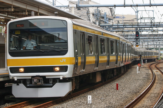【JR東】209系ミツC508編成 東京総合車両センター返却回送