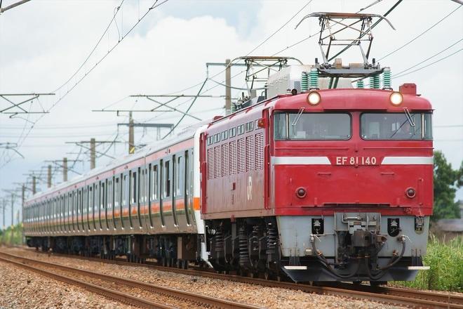 【JR東】209系M82編成秋田総合車両センター出場配給