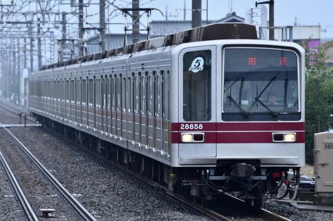 【東武】20050系21858F北館林荷扱所へ回送