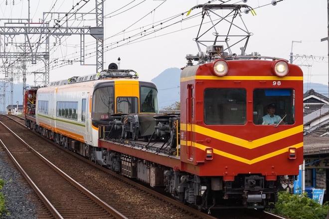 【近鉄】16400系YS01五位堂出場回送