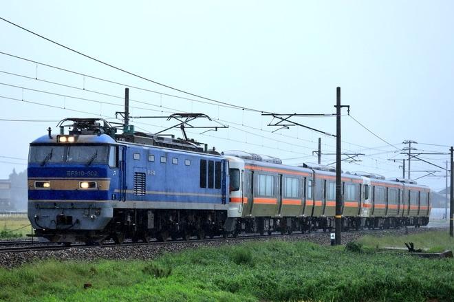 【JR海】キハ25系P107編成+P5編成甲種輸送