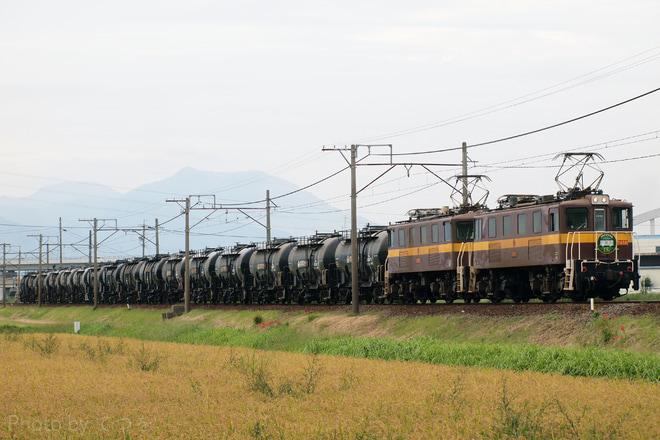 【三岐】貨物鉄道博物館15周年HMをつけての貨物列車の運行