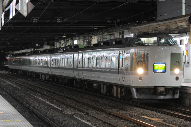 【JR東】臨時特急あずさ80号運転