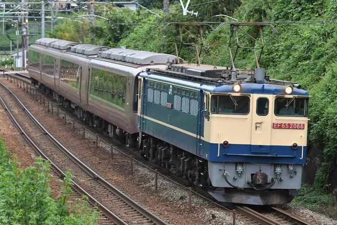 【小田急】30000形30054F(EXE)日本車両入場 甲種輸送
