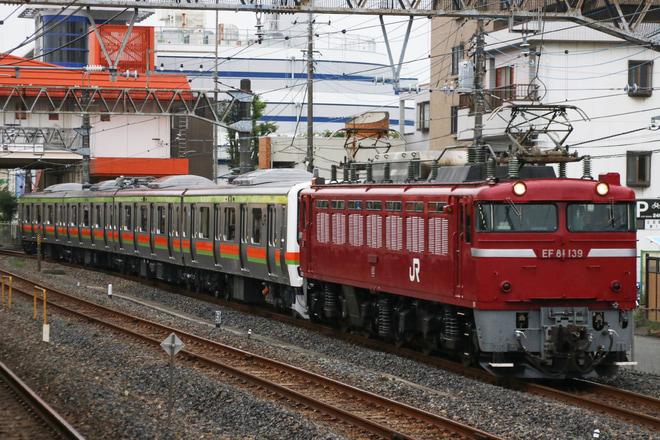【JR東】209系元ミツC505編成 郡山総合車両センター出場