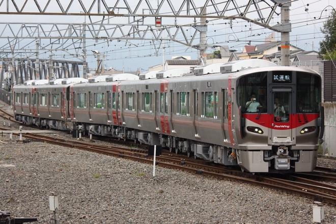 【JR西】227系A53+S31編成近車出場し湖西線で試運転