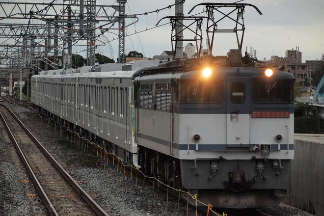 【メトロ】13000系13124F甲種輸送