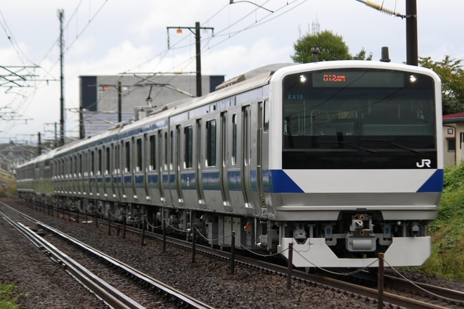 【JR東】E531系K419編成郡山総合車両センター出場