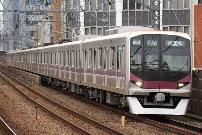 【メトロ】08系08-103F鷺沼工場出場