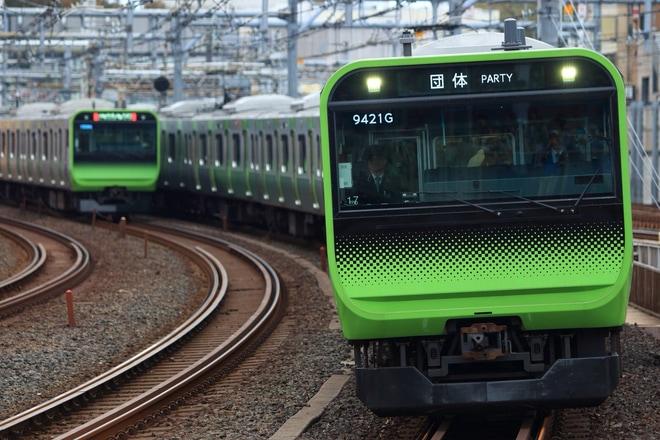【JR東】E235系トウ17編成使用「夢さん橋号」運転 (2018)