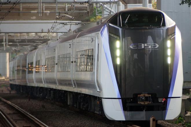 【JR東】E353系S115編成 J-TREC出場試運転