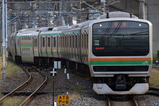 【JR東】E231系ヤマU532編成 東京総合車両センター出場