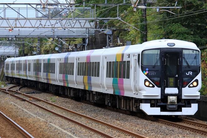 【JR東】E257系モトM-105編成 TDR臨