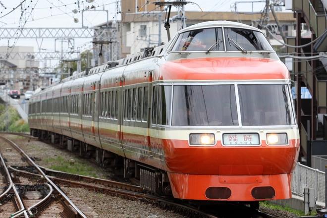 【小田急】「特急ロマンスカー・LSE(7000形)さよならツアー」運転