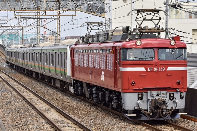 【JR東】E233系E55編成郡山総合車両センター出場配給
