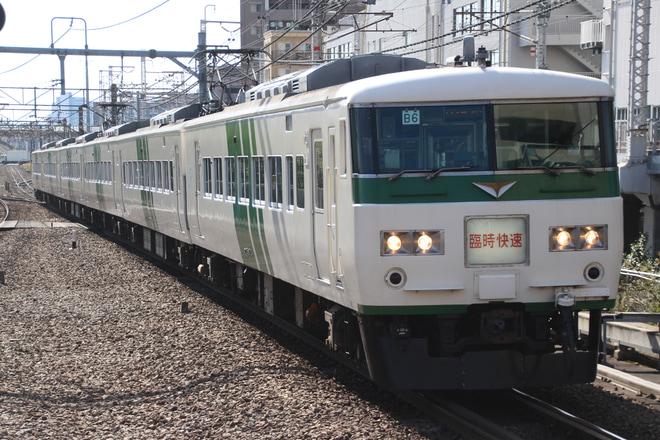 【JR東】臨時快速「川越まつり号」運転