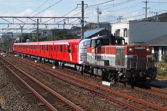 【メトロ】2000系2102F甲種輸送