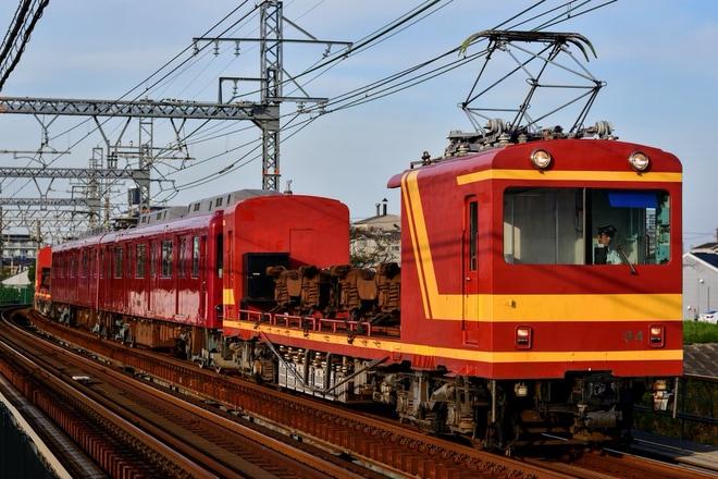 【養老】625系D25廃車回送(近鉄線内)