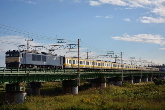 【JR東】E231系B27編成青森へ配給輸送