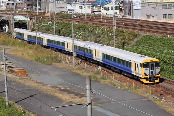 【JR東】E257系500番台による団臨運転