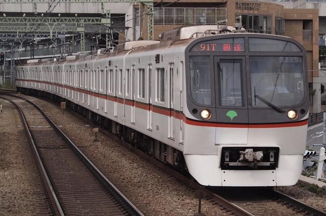 【都営】5300形5325編成廃車回送