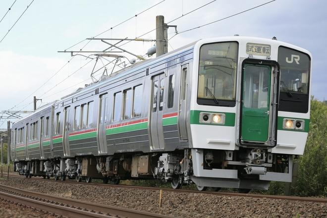 【JR東】719系センH-41編成 郡山総合車両センター出場