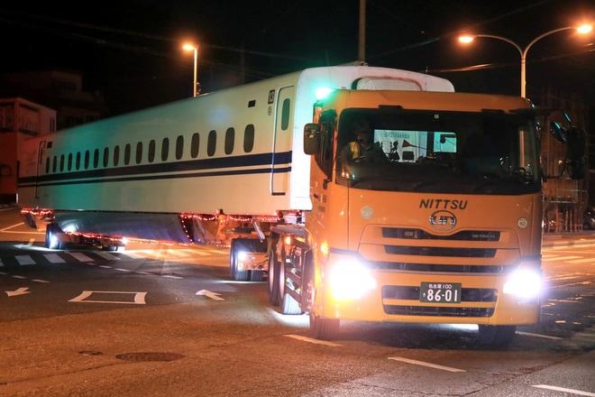 【JR海】N700S系J0編成日本車輌へ陸送