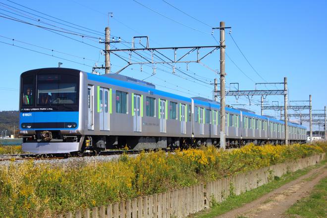 【東武】60000系61601F試運転