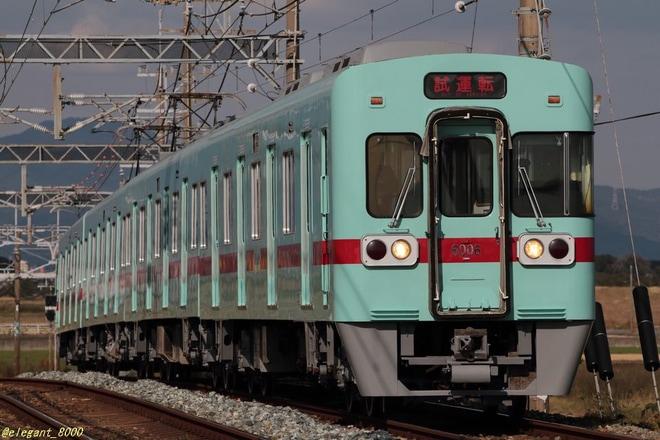 【西鉄】6000形6006Fが出場し黒Hゴム化