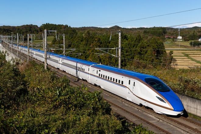 【JR東】E7系F20編成本線試運転