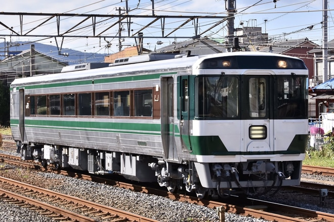 【JR四】キハ185-17多度津工場出場