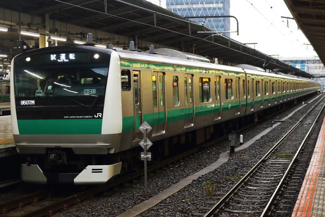 【JR東】E233系使用の板橋新設留置線入線試運転