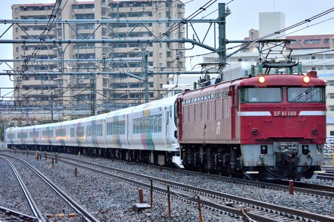 【JR東】E257系モトM-103編成 秋田総合車両センター入場配給