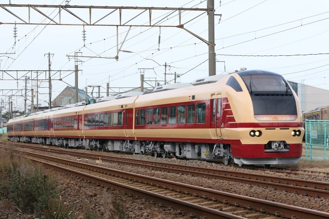 【JR東】E653系U108編成国鉄色になり構内試運転