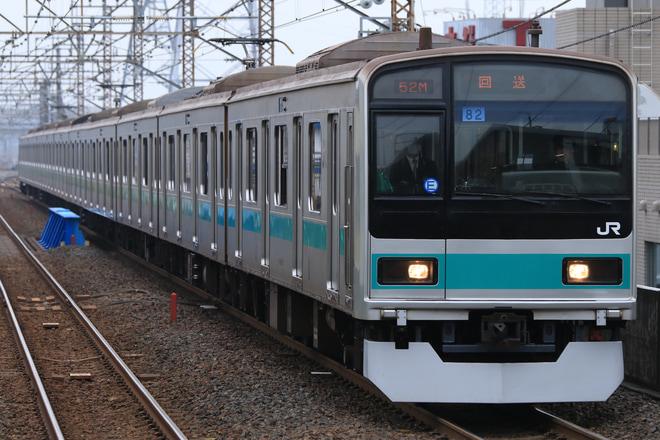 【JR東】209系マト82編成 大宮総合車両センターへ入場