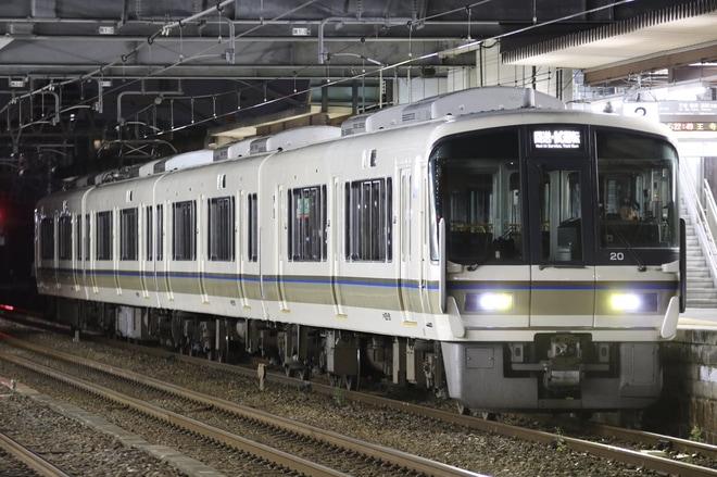 【JR西】221系NA409編成吹田総合車両所出場回送